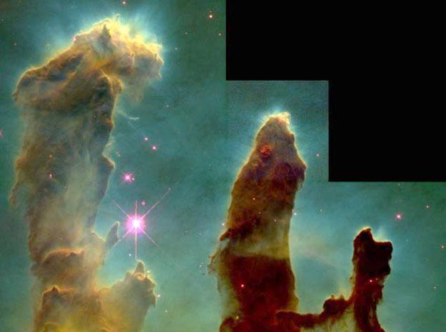 M 16: les étoiles des oeufs de l\'Aigle