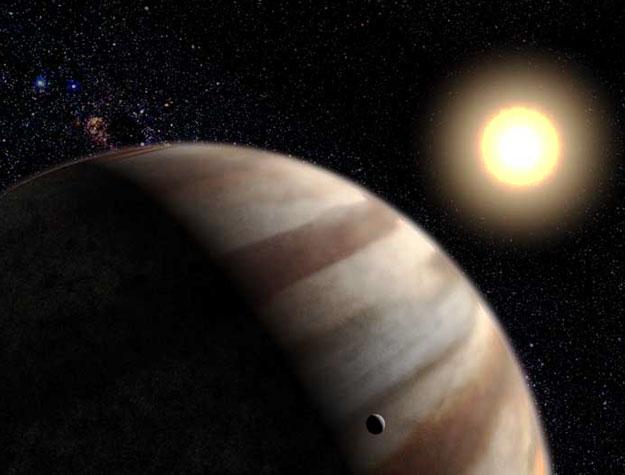 Une atmosphère planétaire extra-solaire détectée