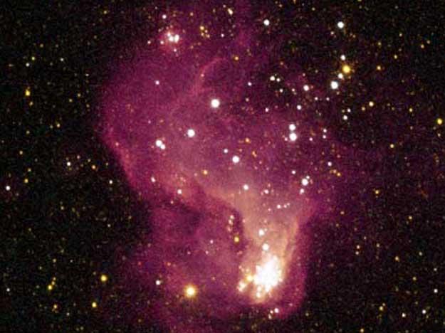La région de formation d\'étoiles Hubble-V