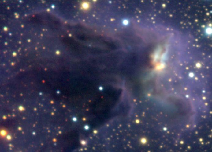 M 16 : chasse à l\'étoile infrarouge