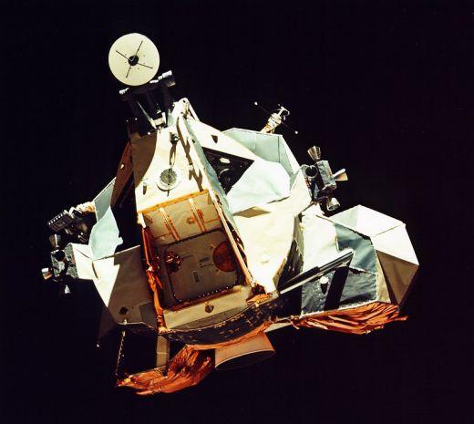 Le module lunaire d\'Apollo 17