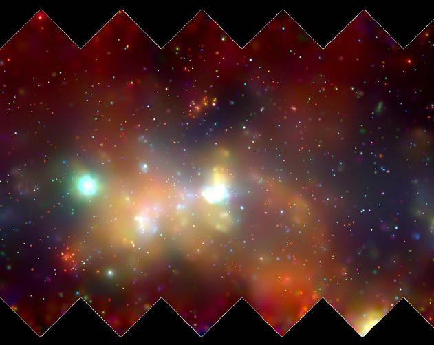 La Voie Lactée en rayons-X