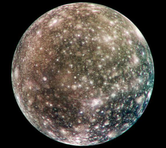 La face complète de Callisto