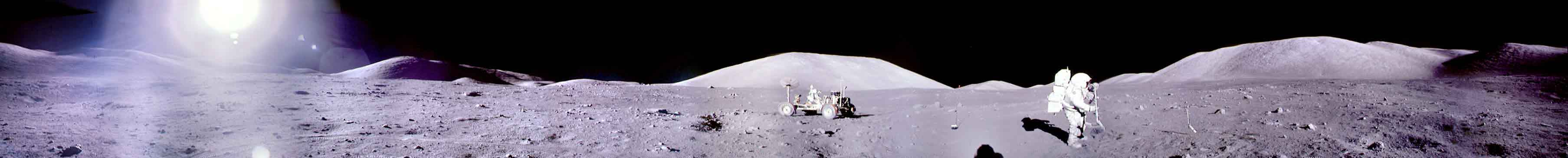 Un panorama d\'Apollo 17