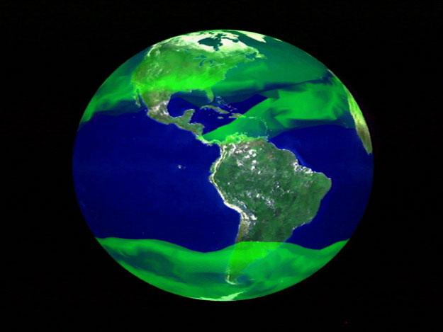 Terre de méthane