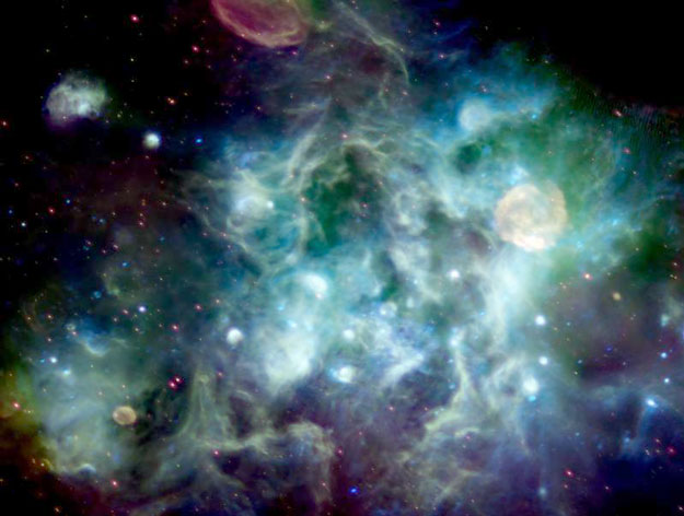 Une vue radio du Cygne