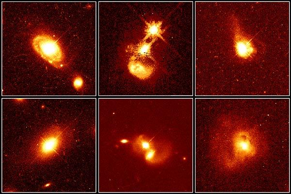 Une galerie de portraits de quasars