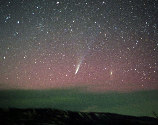 Ikeya-Zhang: une comète au-dessus du Colorado