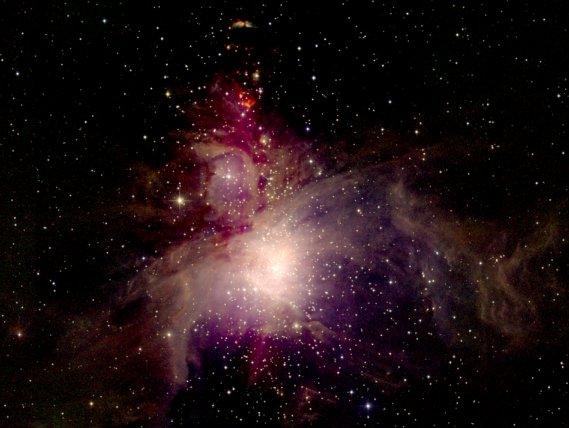 Nébuleuse d\'Orion par 2MASS