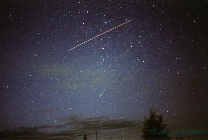 La comète Ikeya-Zhang rencontre l\'ISS