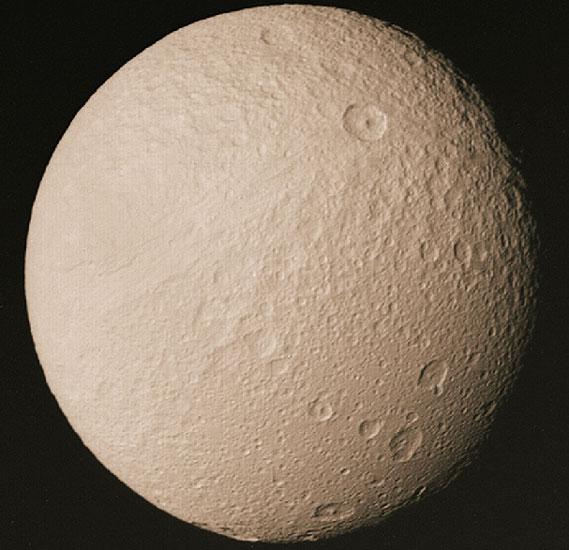 Téthys, lune de Saturne