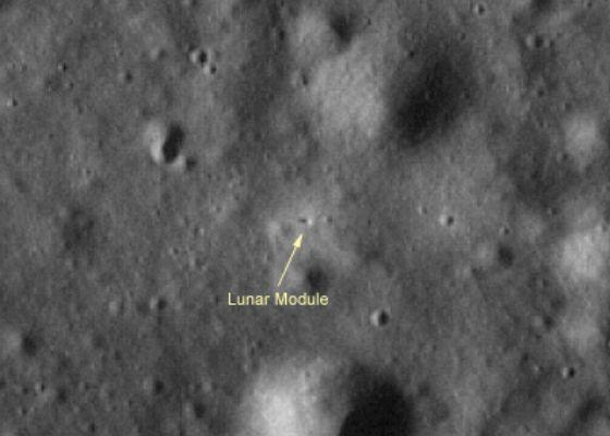 Le module lunaire dans Taurus-Littrow