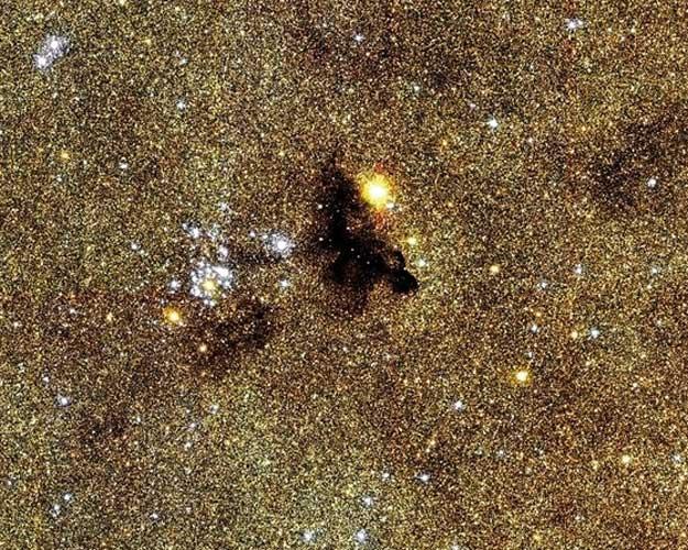 L\'amas ouvert NGC6520 par le CFHT