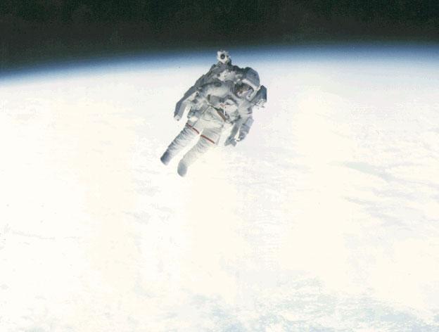Vol libre dans l\'espace