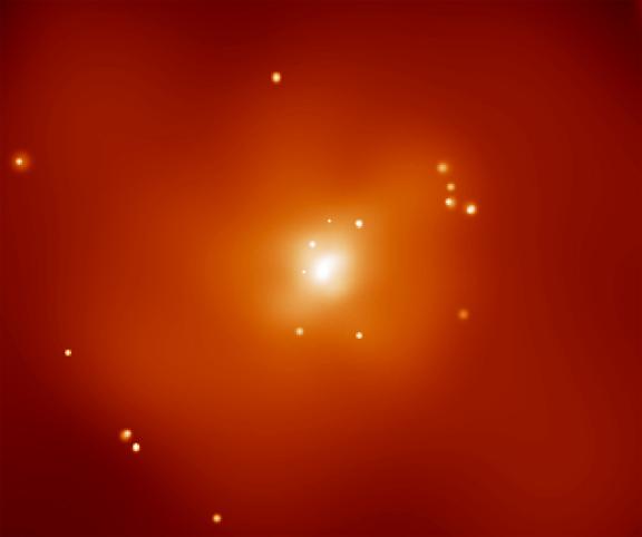 Matière sombre, rayons-X et NGC720