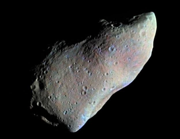 Le meilleur profil de l\'astéroïde Gaspra