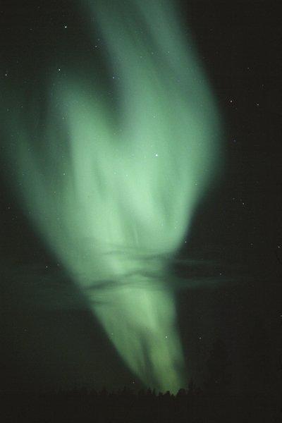 Une aurore dans la nuit