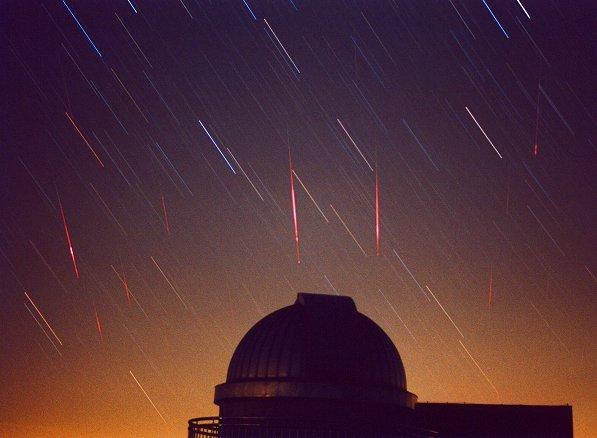 Léonides de 2001: des météores en perspectives