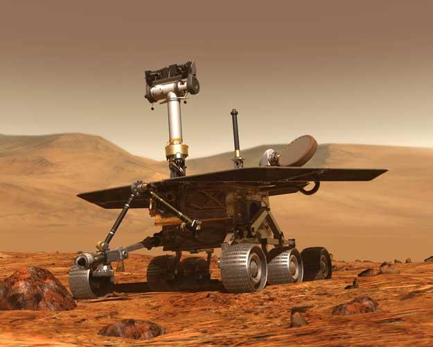 Baptisez ce robot martien