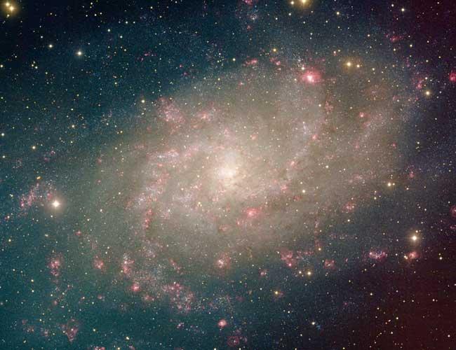 La proche spirale M33