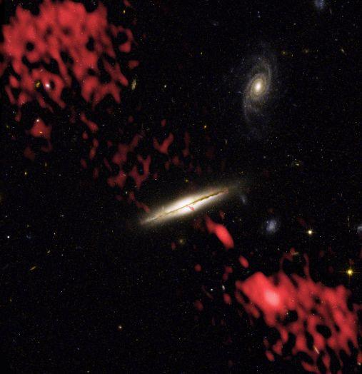 0313-192: La mauvaise galaxie
