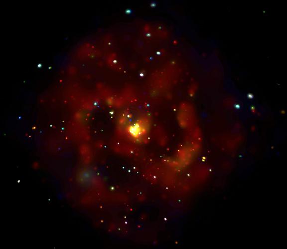 Les rayons-X de M83
