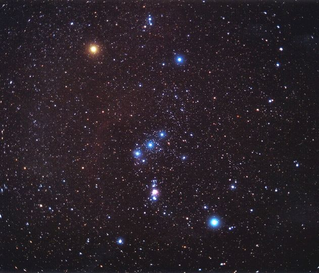 Orion sur film