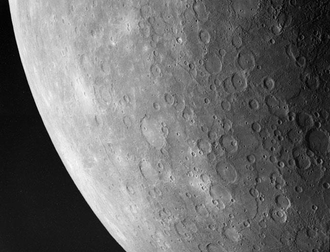 Au sud-ouest de Mercure