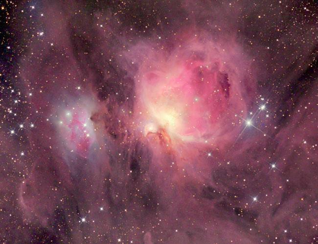 M42: les nuages de la Nébuleuse d\'Orion