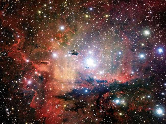 NGC281: Amas, nuages et globules