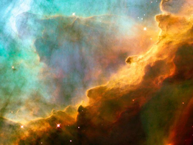 M17: un gros plan d\'Hubble