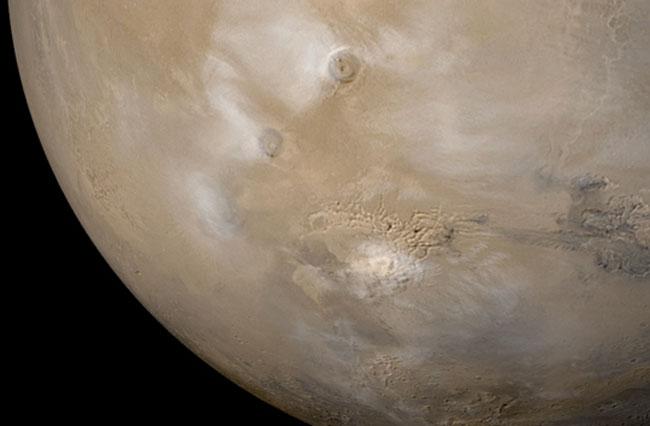 Les brumes de Mars