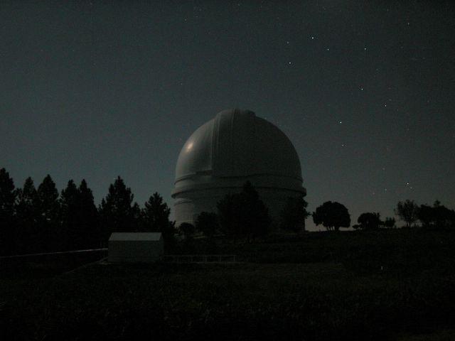 Palomar la nuit