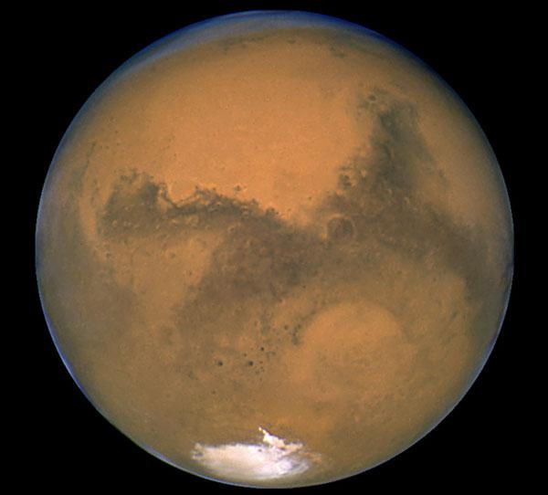 Grosse Mars par Hubble