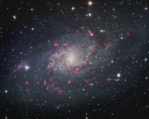 M33: la galaxie spirale dans le Triangle
