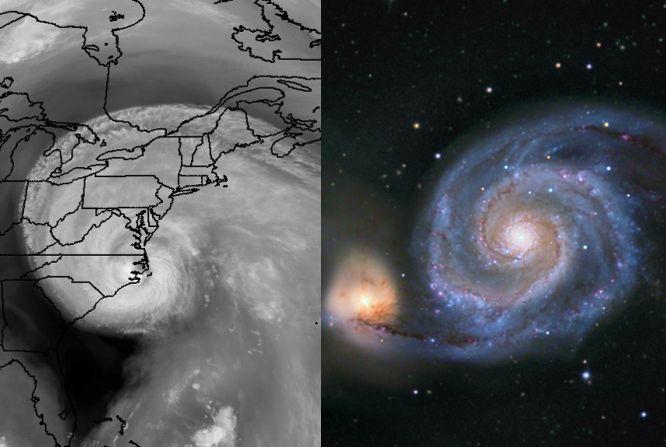 Les spirales logarithmiques d\'Isabel et de M51
