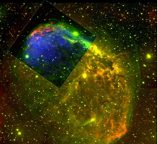 NGC6888: les rayons-X dans le vent