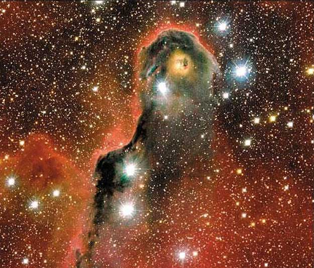 Un globule inhabituel dans IC 1396