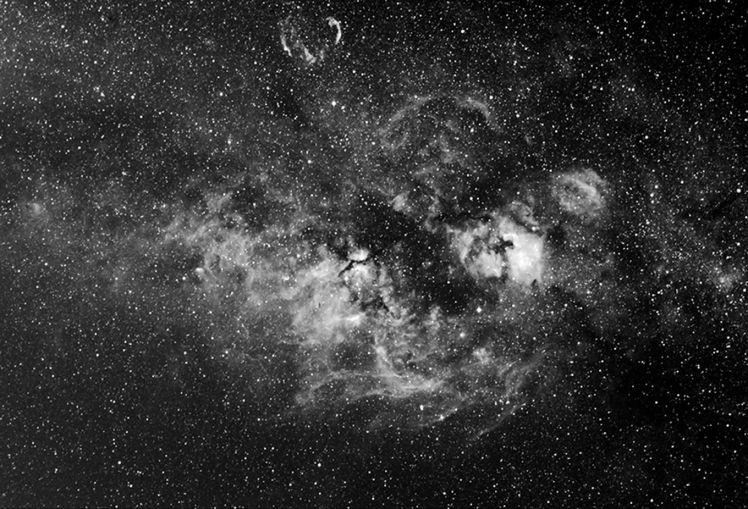 Les nébulosités du Cygne