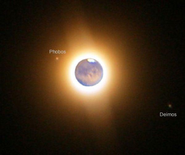Les lunes de Mars