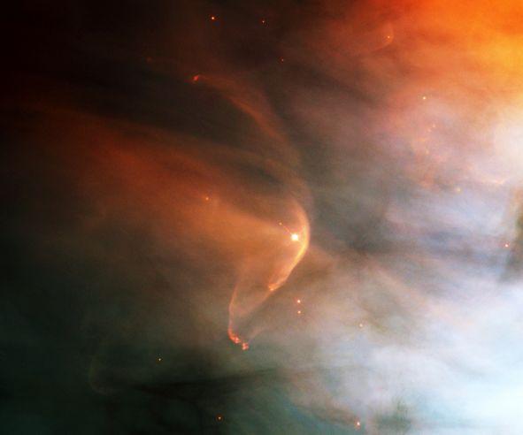 LL Orionis : quand les vents cosmiques entrent en collision