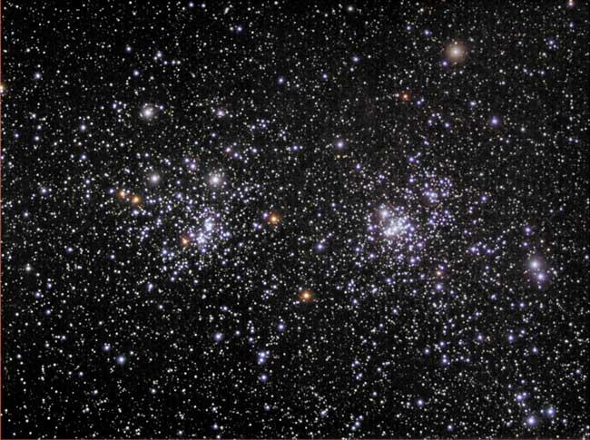 NGC869 et NGC884: un amas ouvert double