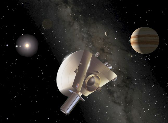 New Horizons à Jupiter
