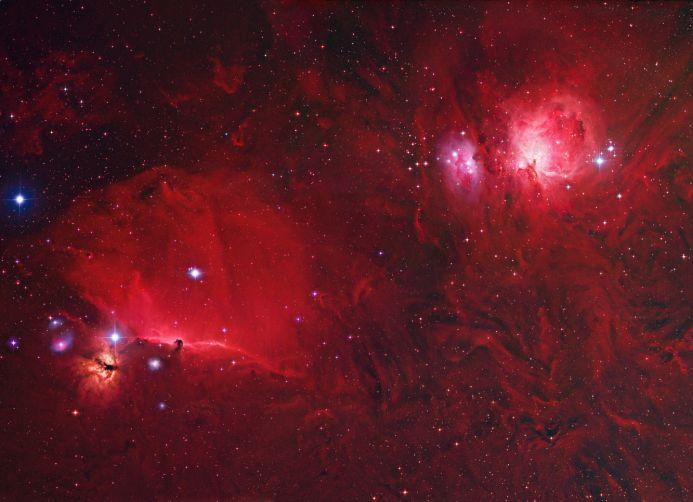 Un champ profond d\'Orion