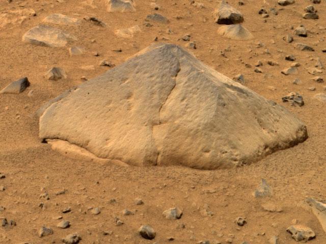 Le rocher Adirondack sur Mars