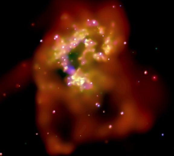 Les rayons-X des Galaxies des Antennes