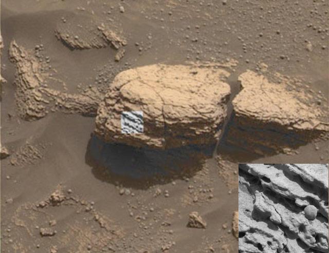 Intrigantes sphérules martiennes
