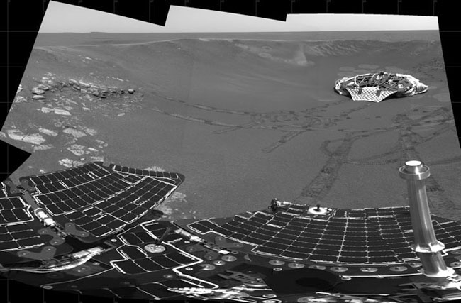 Le rover Opportunity indique que Mars était humide