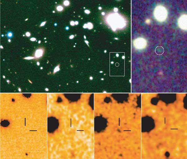 Redshift de 10: la nouvelle galaxie la plus lointaine