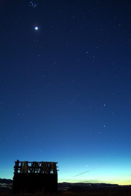 Mercure et Vénus à l\'Ouest